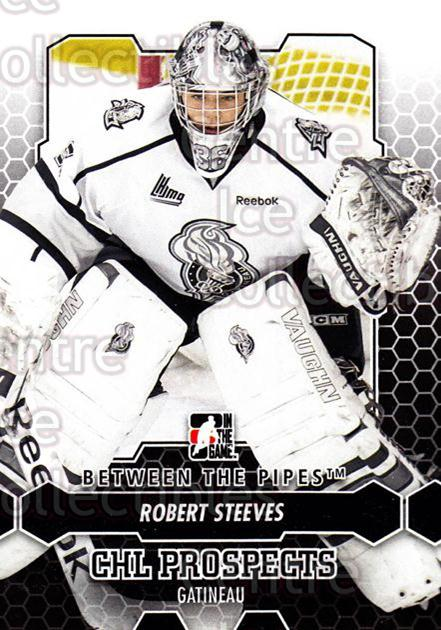2012-13 Between The Pipes #20 Robert Steeves<br/>7 In Stock - $1.00 each - <a href=https://centericecollectibles.foxycart.com/cart?name=2012-13%20Between%20The%20Pipes%20%2320%20Robert%20Steeves...&quantity_max=7&price=$1.00&code=542090 class=foxycart> Buy it now! </a>