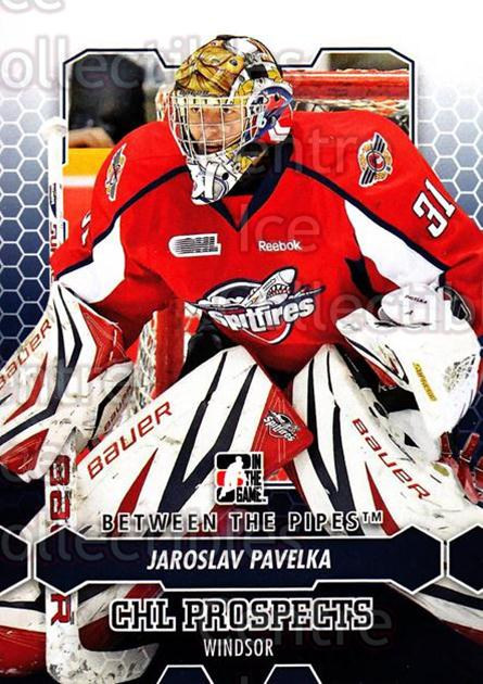 2012-13 Between The Pipes #22 Jaroslav Pavelka<br/>3 In Stock - $1.00 each - <a href=https://centericecollectibles.foxycart.com/cart?name=2012-13%20Between%20The%20Pipes%20%2322%20Jaroslav%20Pavelk...&quantity_max=3&price=$1.00&code=542092 class=foxycart> Buy it now! </a>