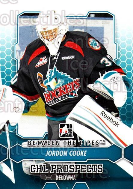 2012-13 Between The Pipes #27 Jordon Cooke<br/>10 In Stock - $1.00 each - <a href=https://centericecollectibles.foxycart.com/cart?name=2012-13%20Between%20The%20Pipes%20%2327%20Jordon%20Cooke...&quantity_max=10&price=$1.00&code=542097 class=foxycart> Buy it now! </a>