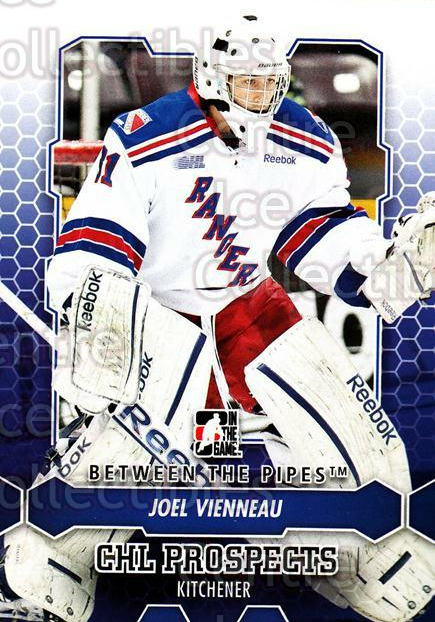 2012-13 Between The Pipes #29 Joel Vienneau<br/>8 In Stock - $1.00 each - <a href=https://centericecollectibles.foxycart.com/cart?name=2012-13%20Between%20The%20Pipes%20%2329%20Joel%20Vienneau...&quantity_max=8&price=$1.00&code=542099 class=foxycart> Buy it now! </a>