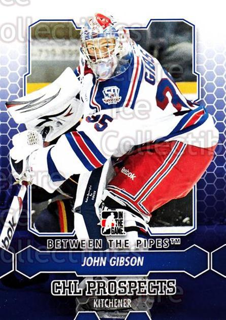 2012-13 Between The Pipes #30 John Gibson<br/>4 In Stock - $1.00 each - <a href=https://centericecollectibles.foxycart.com/cart?name=2012-13%20Between%20The%20Pipes%20%2330%20John%20Gibson...&quantity_max=4&price=$1.00&code=542100 class=foxycart> Buy it now! </a>