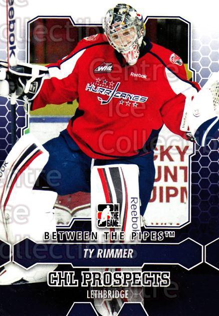2012-13 Between The Pipes #32 Ty Rimmer<br/>7 In Stock - $1.00 each - <a href=https://centericecollectibles.foxycart.com/cart?name=2012-13%20Between%20The%20Pipes%20%2332%20Ty%20Rimmer...&quantity_max=7&price=$1.00&code=542102 class=foxycart> Buy it now! </a>