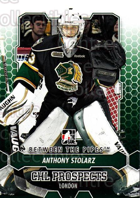 2012-13 Between The Pipes #33 Anthony Stolarz<br/>6 In Stock - $1.00 each - <a href=https://centericecollectibles.foxycart.com/cart?name=2012-13%20Between%20The%20Pipes%20%2333%20Anthony%20Stolarz...&quantity_max=6&price=$1.00&code=542103 class=foxycart> Buy it now! </a>