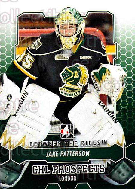 2012-13 Between The Pipes #34 Jake Patterson<br/>9 In Stock - $1.00 each - <a href=https://centericecollectibles.foxycart.com/cart?name=2012-13%20Between%20The%20Pipes%20%2334%20Jake%20Patterson...&quantity_max=9&price=$1.00&code=542104 class=foxycart> Buy it now! </a>