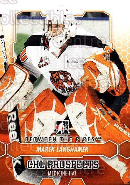 2012-13 Between The Pipes #35 Marek Langhamer<br/>4 In Stock - $1.00 each - <a href=https://centericecollectibles.foxycart.com/cart?name=2012-13%20Between%20The%20Pipes%20%2335%20Marek%20Langhamer...&quantity_max=4&price=$1.00&code=542105 class=foxycart> Buy it now! </a>