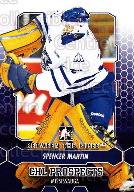 2012-13 Between The Pipes #36 Spencer Martin<br/>6 In Stock - $1.00 each - <a href=https://centericecollectibles.foxycart.com/cart?name=2012-13%20Between%20The%20Pipes%20%2336%20Spencer%20Martin...&quantity_max=6&price=$1.00&code=542106 class=foxycart> Buy it now! </a>