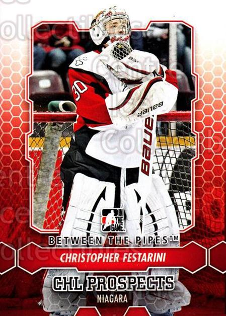2012-13 Between The Pipes #40 Christopher Festarini<br/>7 In Stock - $1.00 each - <a href=https://centericecollectibles.foxycart.com/cart?name=2012-13%20Between%20The%20Pipes%20%2340%20Christopher%20Fes...&quantity_max=7&price=$1.00&code=542110 class=foxycart> Buy it now! </a>