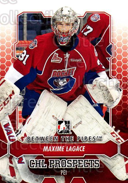 2012-13 Between The Pipes #47 Maxime Lagace<br/>5 In Stock - $1.00 each - <a href=https://centericecollectibles.foxycart.com/cart?name=2012-13%20Between%20The%20Pipes%20%2347%20Maxime%20Lagace...&quantity_max=5&price=$1.00&code=542117 class=foxycart> Buy it now! </a>