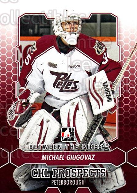 2012-13 Between The Pipes #49 Michael Giugovaz<br/>8 In Stock - $1.00 each - <a href=https://centericecollectibles.foxycart.com/cart?name=2012-13%20Between%20The%20Pipes%20%2349%20Michael%20Giugova...&quantity_max=8&price=$1.00&code=542119 class=foxycart> Buy it now! </a>