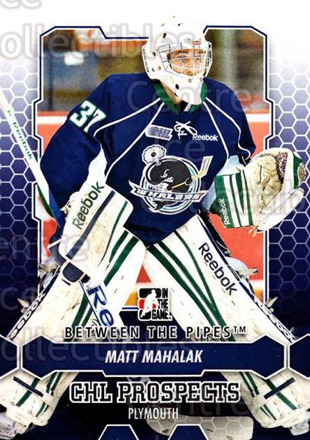 2012-13 Between The Pipes #50 Matt Mahalak<br/>8 In Stock - $1.00 each - <a href=https://centericecollectibles.foxycart.com/cart?name=2012-13%20Between%20The%20Pipes%20%2350%20Matt%20Mahalak...&quantity_max=8&price=$1.00&code=542120 class=foxycart> Buy it now! </a>