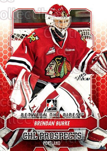 2012-13 Between The Pipes #51 Brendan Burke<br/>8 In Stock - $1.00 each - <a href=https://centericecollectibles.foxycart.com/cart?name=2012-13%20Between%20The%20Pipes%20%2351%20Brendan%20Burke...&quantity_max=8&price=$1.00&code=542121 class=foxycart> Buy it now! </a>