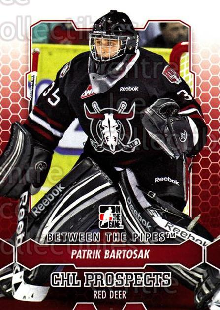 2012-13 Between The Pipes #57 Patrik Bartosak<br/>7 In Stock - $1.00 each - <a href=https://centericecollectibles.foxycart.com/cart?name=2012-13%20Between%20The%20Pipes%20%2357%20Patrik%20Bartosak...&quantity_max=7&price=$1.00&code=542127 class=foxycart> Buy it now! </a>