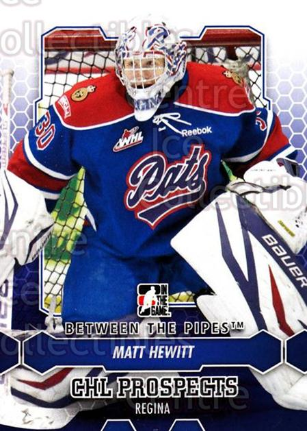 2012-13 Between The Pipes #58 Matt Hewitt<br/>7 In Stock - $1.00 each - <a href=https://centericecollectibles.foxycart.com/cart?name=2012-13%20Between%20The%20Pipes%20%2358%20Matt%20Hewitt...&quantity_max=7&price=$1.00&code=542128 class=foxycart> Buy it now! </a>