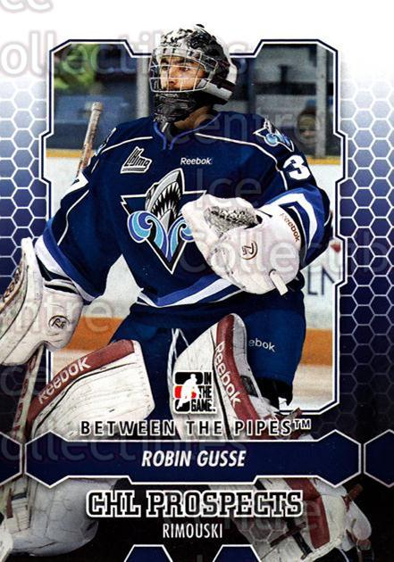 2012-13 Between The Pipes #60 Robin Gusse<br/>7 In Stock - $1.00 each - <a href=https://centericecollectibles.foxycart.com/cart?name=2012-13%20Between%20The%20Pipes%20%2360%20Robin%20Gusse...&quantity_max=7&price=$1.00&code=542130 class=foxycart> Buy it now! </a>