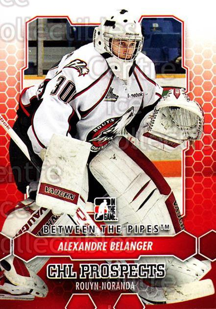 2012-13 Between The Pipes #61 Alexandre Belanger<br/>9 In Stock - $1.00 each - <a href=https://centericecollectibles.foxycart.com/cart?name=2012-13%20Between%20The%20Pipes%20%2361%20Alexandre%20Belan...&quantity_max=9&price=$1.00&code=542131 class=foxycart> Buy it now! </a>