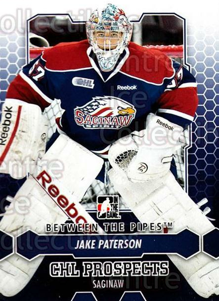 2012-13 Between The Pipes #62 Jake Paterson<br/>8 In Stock - $1.00 each - <a href=https://centericecollectibles.foxycart.com/cart?name=2012-13%20Between%20The%20Pipes%20%2362%20Jake%20Paterson...&quantity_max=8&price=$1.00&code=542132 class=foxycart> Buy it now! </a>