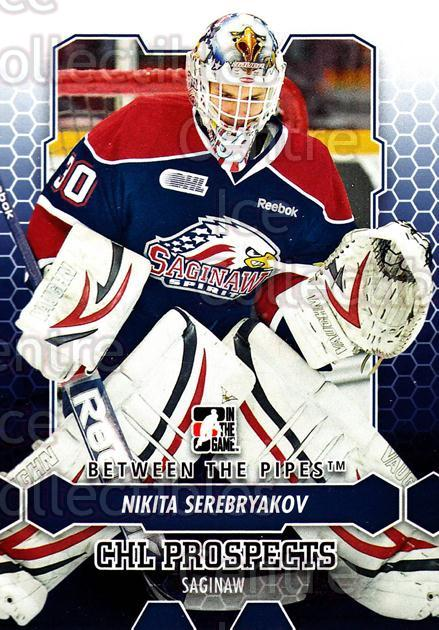 2012-13 Between The Pipes #63 Nikita Serebryakov<br/>9 In Stock - $1.00 each - <a href=https://centericecollectibles.foxycart.com/cart?name=2012-13%20Between%20The%20Pipes%20%2363%20Nikita%20Serebrya...&quantity_max=9&price=$1.00&code=542133 class=foxycart> Buy it now! </a>