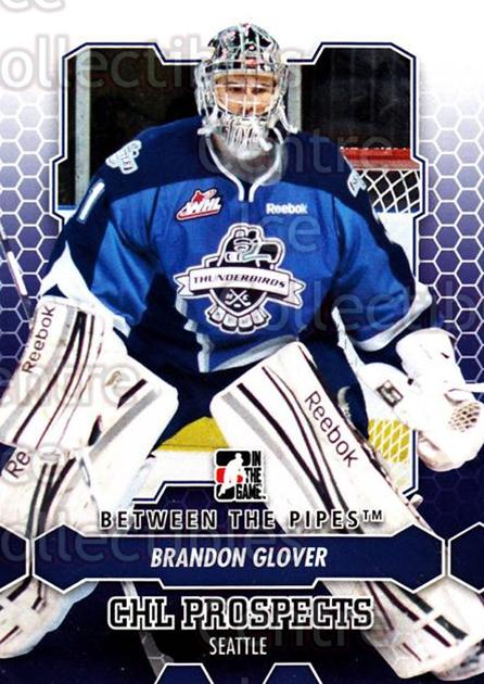 2012-13 Between The Pipes #68 Brandon Glover<br/>7 In Stock - $1.00 each - <a href=https://centericecollectibles.foxycart.com/cart?name=2012-13%20Between%20The%20Pipes%20%2368%20Brandon%20Glover...&quantity_max=7&price=$1.00&code=542138 class=foxycart> Buy it now! </a>