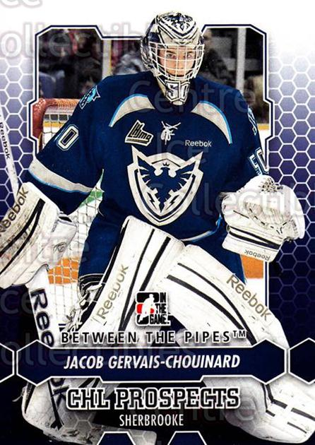 2012-13 Between The Pipes #70 Jacob Gervais-Chouinard<br/>7 In Stock - $1.00 each - <a href=https://centericecollectibles.foxycart.com/cart?name=2012-13%20Between%20The%20Pipes%20%2370%20Jacob%20Gervais-C...&quantity_max=7&price=$1.00&code=542140 class=foxycart> Buy it now! </a>