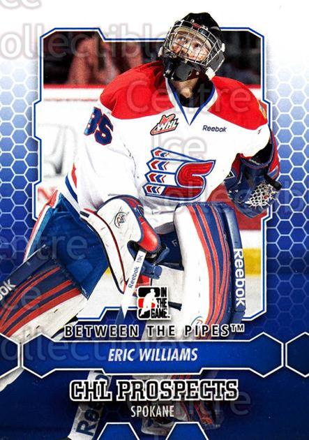 2012-13 Between The Pipes #71 Eric Williams<br/>9 In Stock - $1.00 each - <a href=https://centericecollectibles.foxycart.com/cart?name=2012-13%20Between%20The%20Pipes%20%2371%20Eric%20Williams...&quantity_max=9&price=$1.00&code=542141 class=foxycart> Buy it now! </a>
