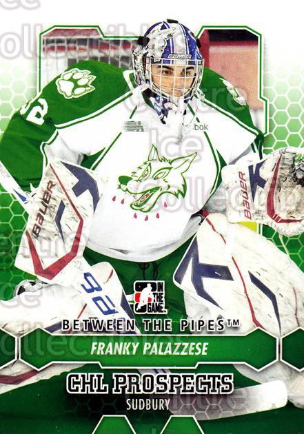 2012-13 Between The Pipes #72 Franky Palazzese<br/>10 In Stock - $1.00 each - <a href=https://centericecollectibles.foxycart.com/cart?name=2012-13%20Between%20The%20Pipes%20%2372%20Franky%20Palazzes...&quantity_max=10&price=$1.00&code=542142 class=foxycart> Buy it now! </a>