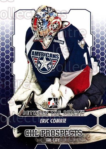 2012-13 Between The Pipes #74 Eric Comrie<br/>7 In Stock - $1.00 each - <a href=https://centericecollectibles.foxycart.com/cart?name=2012-13%20Between%20The%20Pipes%20%2374%20Eric%20Comrie...&quantity_max=7&price=$1.00&code=542144 class=foxycart> Buy it now! </a>