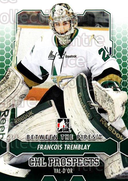 2012-13 Between The Pipes #75 Francois Tremblay<br/>7 In Stock - $1.00 each - <a href=https://centericecollectibles.foxycart.com/cart?name=2012-13%20Between%20The%20Pipes%20%2375%20Francois%20Trembl...&quantity_max=7&price=$1.00&code=542145 class=foxycart> Buy it now! </a>