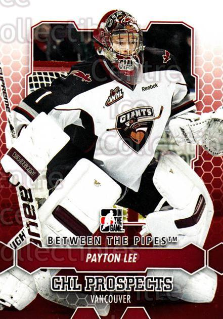 2012-13 Between The Pipes #77 Payton Lee<br/>6 In Stock - $1.00 each - <a href=https://centericecollectibles.foxycart.com/cart?name=2012-13%20Between%20The%20Pipes%20%2377%20Payton%20Lee...&quantity_max=6&price=$1.00&code=542147 class=foxycart> Buy it now! </a>