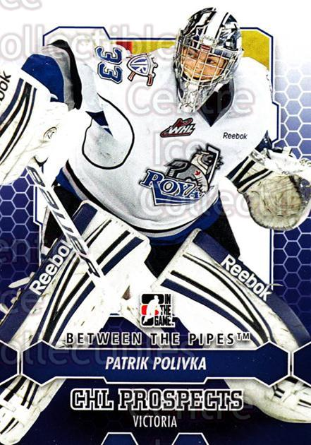 2012-13 Between The Pipes #78 Patrik Polivka<br/>4 In Stock - $1.00 each - <a href=https://centericecollectibles.foxycart.com/cart?name=2012-13%20Between%20The%20Pipes%20%2378%20Patrik%20Polivka...&quantity_max=4&price=$1.00&code=542148 class=foxycart> Buy it now! </a>