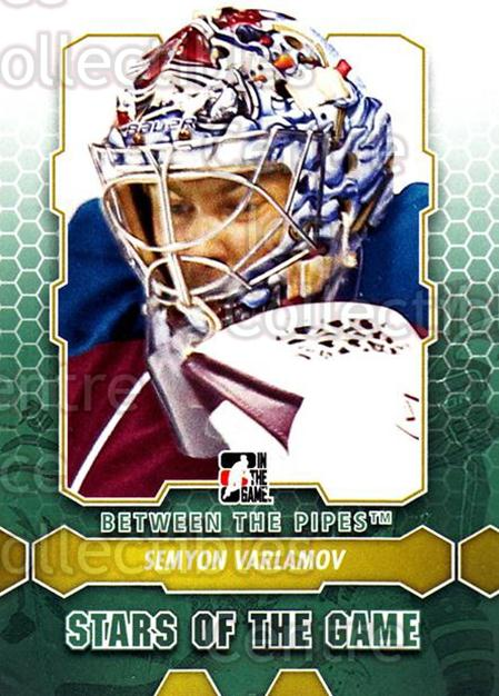 2012-13 Between The Pipes #80 Semyon Varlamov<br/>9 In Stock - $1.00 each - <a href=https://centericecollectibles.foxycart.com/cart?name=2012-13%20Between%20The%20Pipes%20%2380%20Semyon%20Varlamov...&quantity_max=9&price=$1.00&code=542150 class=foxycart> Buy it now! </a>