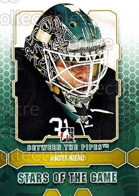 2012-13 Between The Pipes #81 Antti Niemi<br/>9 In Stock - $1.00 each - <a href=https://centericecollectibles.foxycart.com/cart?name=2012-13%20Between%20The%20Pipes%20%2381%20Antti%20Niemi...&quantity_max=9&price=$1.00&code=542151 class=foxycart> Buy it now! </a>