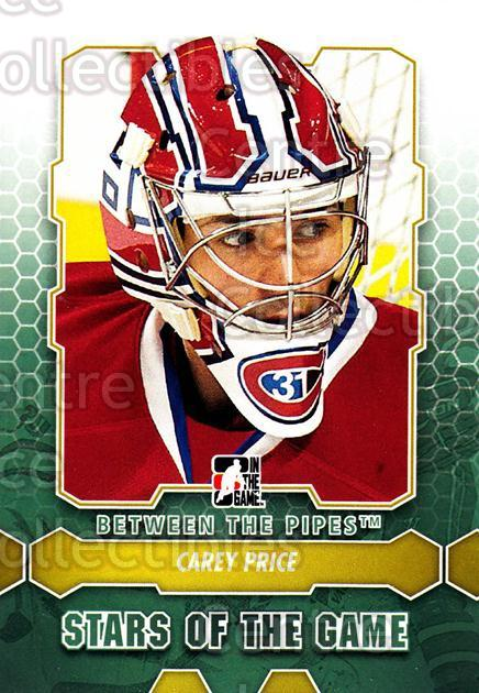 2012-13 Between The Pipes #83 Carey Price<br/>4 In Stock - $3.00 each - <a href=https://centericecollectibles.foxycart.com/cart?name=2012-13%20Between%20The%20Pipes%20%2383%20Carey%20Price...&quantity_max=4&price=$3.00&code=542153 class=foxycart> Buy it now! </a>