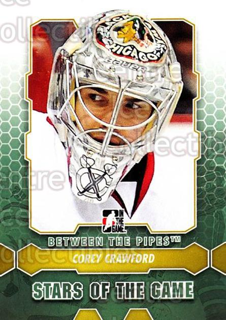 2012-13 Between The Pipes #84 Corey Crawford<br/>7 In Stock - $1.00 each - <a href=https://centericecollectibles.foxycart.com/cart?name=2012-13%20Between%20The%20Pipes%20%2384%20Corey%20Crawford...&quantity_max=7&price=$1.00&code=542154 class=foxycart> Buy it now! </a>