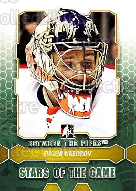 2012-13 Between The Pipes #85 Evgeni Nabokov<br/>6 In Stock - $1.00 each - <a href=https://centericecollectibles.foxycart.com/cart?name=2012-13%20Between%20The%20Pipes%20%2385%20Evgeni%20Nabokov...&quantity_max=6&price=$1.00&code=542155 class=foxycart> Buy it now! </a>