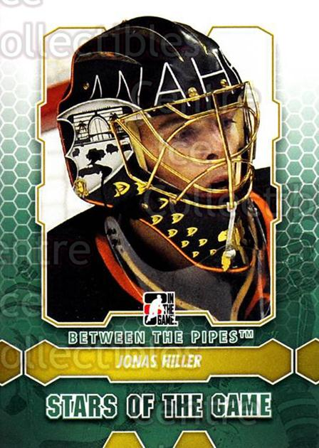 2012-13 Between The Pipes #88 Jonas Hiller<br/>9 In Stock - $1.00 each - <a href=https://centericecollectibles.foxycart.com/cart?name=2012-13%20Between%20The%20Pipes%20%2388%20Jonas%20Hiller...&quantity_max=9&price=$1.00&code=542158 class=foxycart> Buy it now! </a>