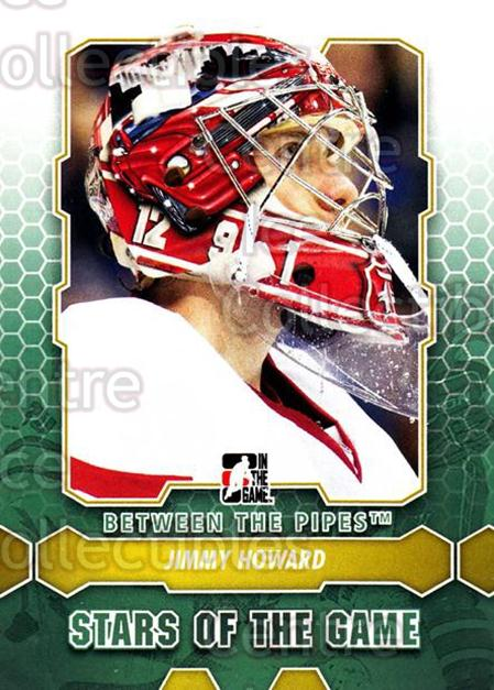 2012-13 Between The Pipes #92 Jimmy Howard<br/>8 In Stock - $1.00 each - <a href=https://centericecollectibles.foxycart.com/cart?name=2012-13%20Between%20The%20Pipes%20%2392%20Jimmy%20Howard...&quantity_max=8&price=$1.00&code=542162 class=foxycart> Buy it now! </a>