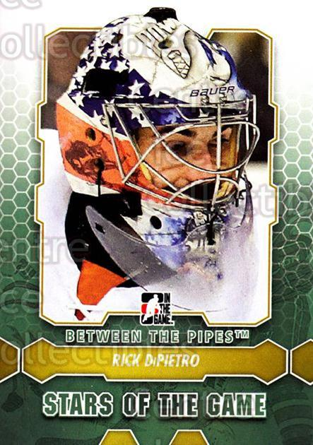 2012-13 Between The Pipes #94 Rick DiPietro<br/>8 In Stock - $1.00 each - <a href=https://centericecollectibles.foxycart.com/cart?name=2012-13%20Between%20The%20Pipes%20%2394%20Rick%20DiPietro...&quantity_max=8&price=$1.00&code=542164 class=foxycart> Buy it now! </a>