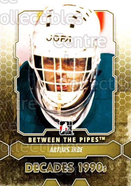 2012-13 Between The Pipes #97 Arturs Irbe<br/>11 In Stock - $1.00 each - <a href=https://centericecollectibles.foxycart.com/cart?name=2012-13%20Between%20The%20Pipes%20%2397%20Arturs%20Irbe...&quantity_max=11&price=$1.00&code=542167 class=foxycart> Buy it now! </a>