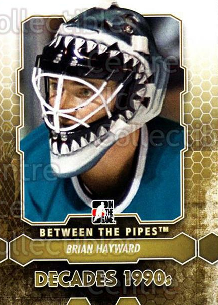 2012-13 Between The Pipes #100 Brian Hayward<br/>7 In Stock - $1.00 each - <a href=https://centericecollectibles.foxycart.com/cart?name=2012-13%20Between%20The%20Pipes%20%23100%20Brian%20Hayward...&quantity_max=7&price=$1.00&code=542170 class=foxycart> Buy it now! </a>