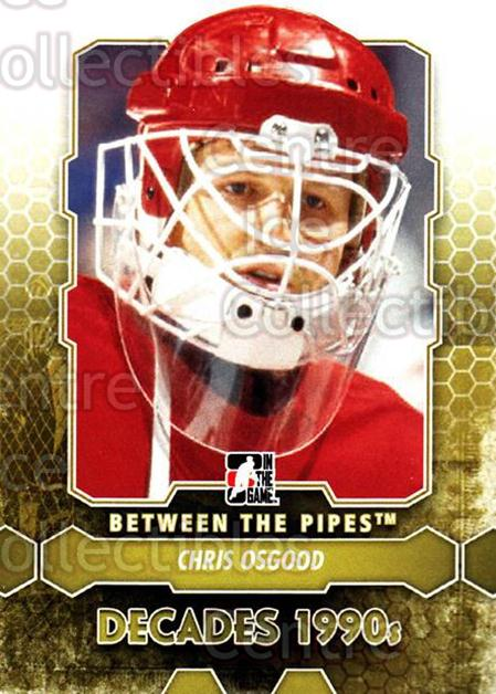 2012-13 Between The Pipes #102 Chris Osgood<br/>9 In Stock - $1.00 each - <a href=https://centericecollectibles.foxycart.com/cart?name=2012-13%20Between%20The%20Pipes%20%23102%20Chris%20Osgood...&quantity_max=9&price=$1.00&code=542172 class=foxycart> Buy it now! </a>