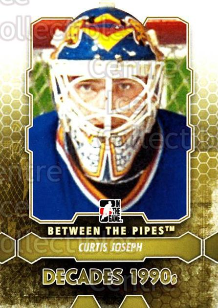 2012-13 Between The Pipes #105 Curtis Joseph<br/>11 In Stock - $1.00 each - <a href=https://centericecollectibles.foxycart.com/cart?name=2012-13%20Between%20The%20Pipes%20%23105%20Curtis%20Joseph...&quantity_max=11&price=$1.00&code=542175 class=foxycart> Buy it now! </a>