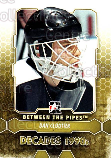 2012-13 Between The Pipes #107 Dan Cloutier<br/>9 In Stock - $1.00 each - <a href=https://centericecollectibles.foxycart.com/cart?name=2012-13%20Between%20The%20Pipes%20%23107%20Dan%20Cloutier...&quantity_max=9&price=$1.00&code=542177 class=foxycart> Buy it now! </a>