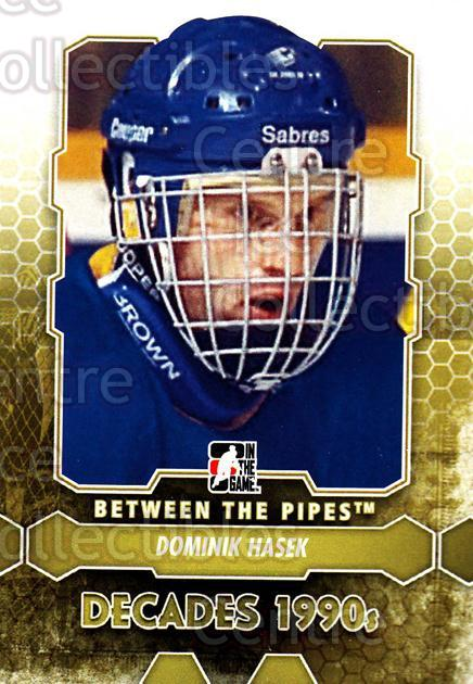 2012-13 Between The Pipes #108 Dominik Hasek<br/>7 In Stock - $1.00 each - <a href=https://centericecollectibles.foxycart.com/cart?name=2012-13%20Between%20The%20Pipes%20%23108%20Dominik%20Hasek...&quantity_max=7&price=$1.00&code=542178 class=foxycart> Buy it now! </a>