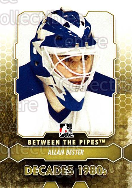 2012-13 Between The Pipes #122 Allan Bester<br/>7 In Stock - $1.00 each - <a href=https://centericecollectibles.foxycart.com/cart?name=2012-13%20Between%20The%20Pipes%20%23122%20Allan%20Bester...&quantity_max=7&price=$1.00&code=542192 class=foxycart> Buy it now! </a>