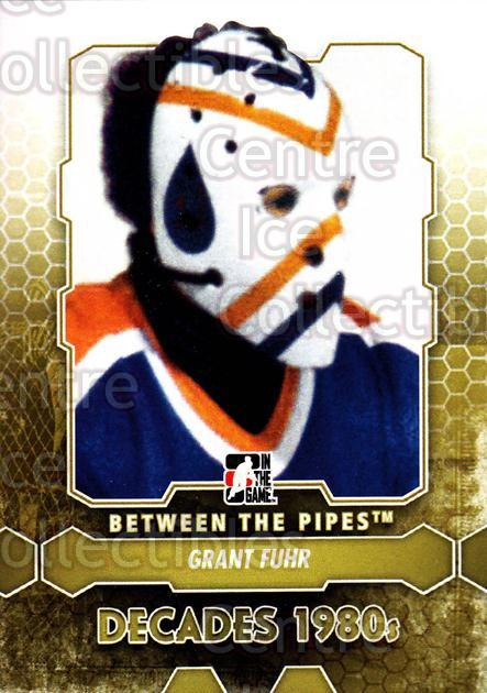 2012-13 Between The Pipes #130 Grant Fuhr<br/>7 In Stock - $1.00 each - <a href=https://centericecollectibles.foxycart.com/cart?name=2012-13%20Between%20The%20Pipes%20%23130%20Grant%20Fuhr...&quantity_max=7&price=$1.00&code=542200 class=foxycart> Buy it now! </a>