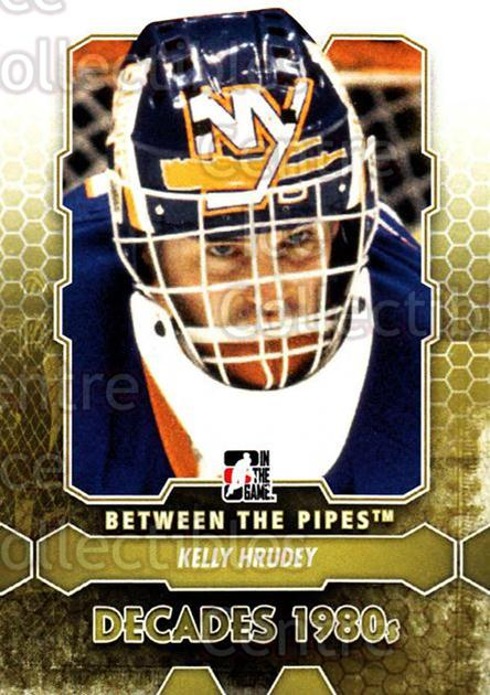 2012-13 Between The Pipes #134 Kelly Hrudey<br/>7 In Stock - $1.00 each - <a href=https://centericecollectibles.foxycart.com/cart?name=2012-13%20Between%20The%20Pipes%20%23134%20Kelly%20Hrudey...&quantity_max=7&price=$1.00&code=542204 class=foxycart> Buy it now! </a>