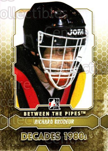 2012-13 Between The Pipes #139 Richard Brodeur<br/>8 In Stock - $1.00 each - <a href=https://centericecollectibles.foxycart.com/cart?name=2012-13%20Between%20The%20Pipes%20%23139%20Richard%20Brodeur...&quantity_max=8&price=$1.00&code=542209 class=foxycart> Buy it now! </a>