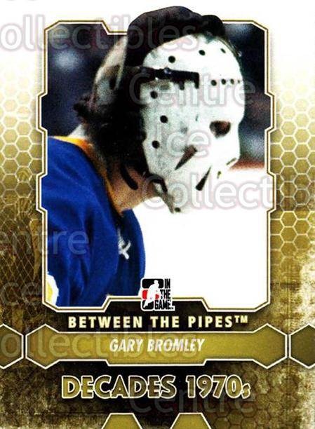 2012-13 Between The Pipes #146 Gary Bromley<br/>8 In Stock - $1.00 each - <a href=https://centericecollectibles.foxycart.com/cart?name=2012-13%20Between%20The%20Pipes%20%23146%20Gary%20Bromley...&quantity_max=8&price=$1.00&code=542216 class=foxycart> Buy it now! </a>