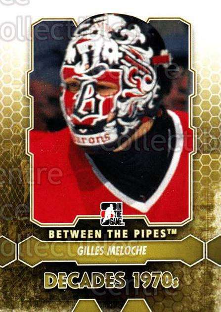 2012-13 Between The Pipes #151 Gilles Meloche<br/>9 In Stock - $1.00 each - <a href=https://centericecollectibles.foxycart.com/cart?name=2012-13%20Between%20The%20Pipes%20%23151%20Gilles%20Meloche...&quantity_max=9&price=$1.00&code=542221 class=foxycart> Buy it now! </a>