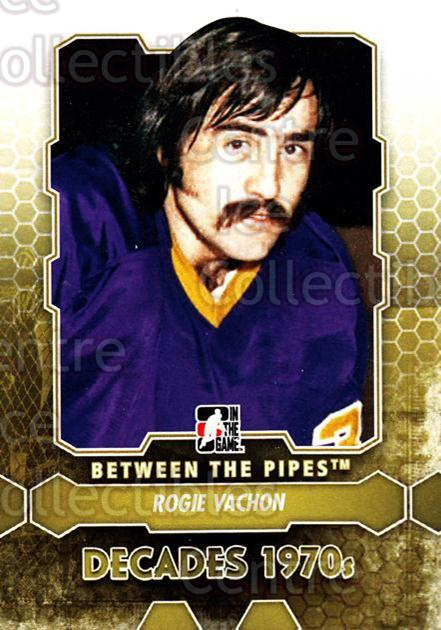 2012-13 Between The Pipes #155 Rogie Vachon<br/>7 In Stock - $1.00 each - <a href=https://centericecollectibles.foxycart.com/cart?name=2012-13%20Between%20The%20Pipes%20%23155%20Rogie%20Vachon...&quantity_max=7&price=$1.00&code=542225 class=foxycart> Buy it now! </a>